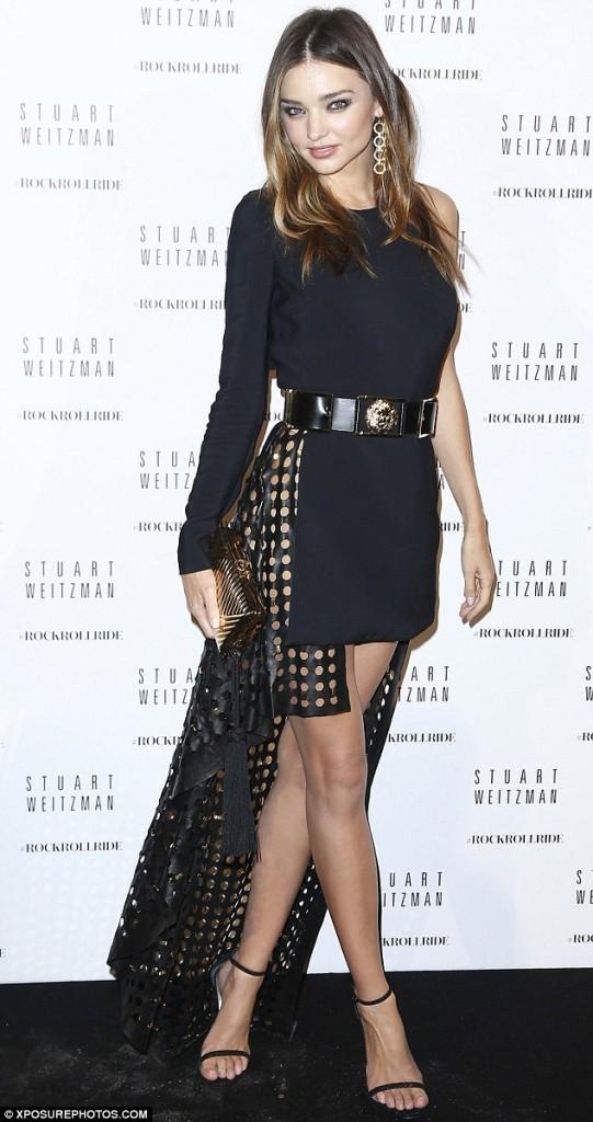 Miranda Kerr laser dress